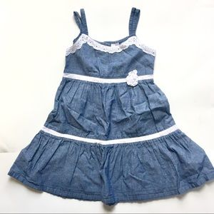 Blueberi Boulevard Toddler Girl Jeans summer dress